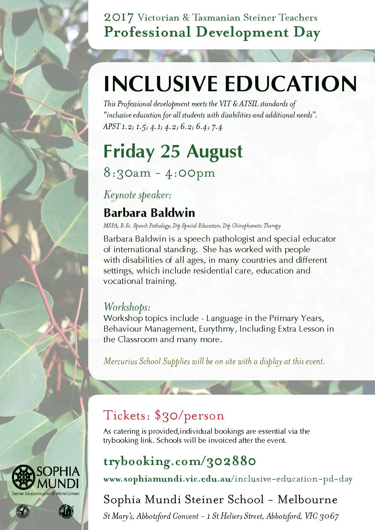 Inclusive Education – PD Day