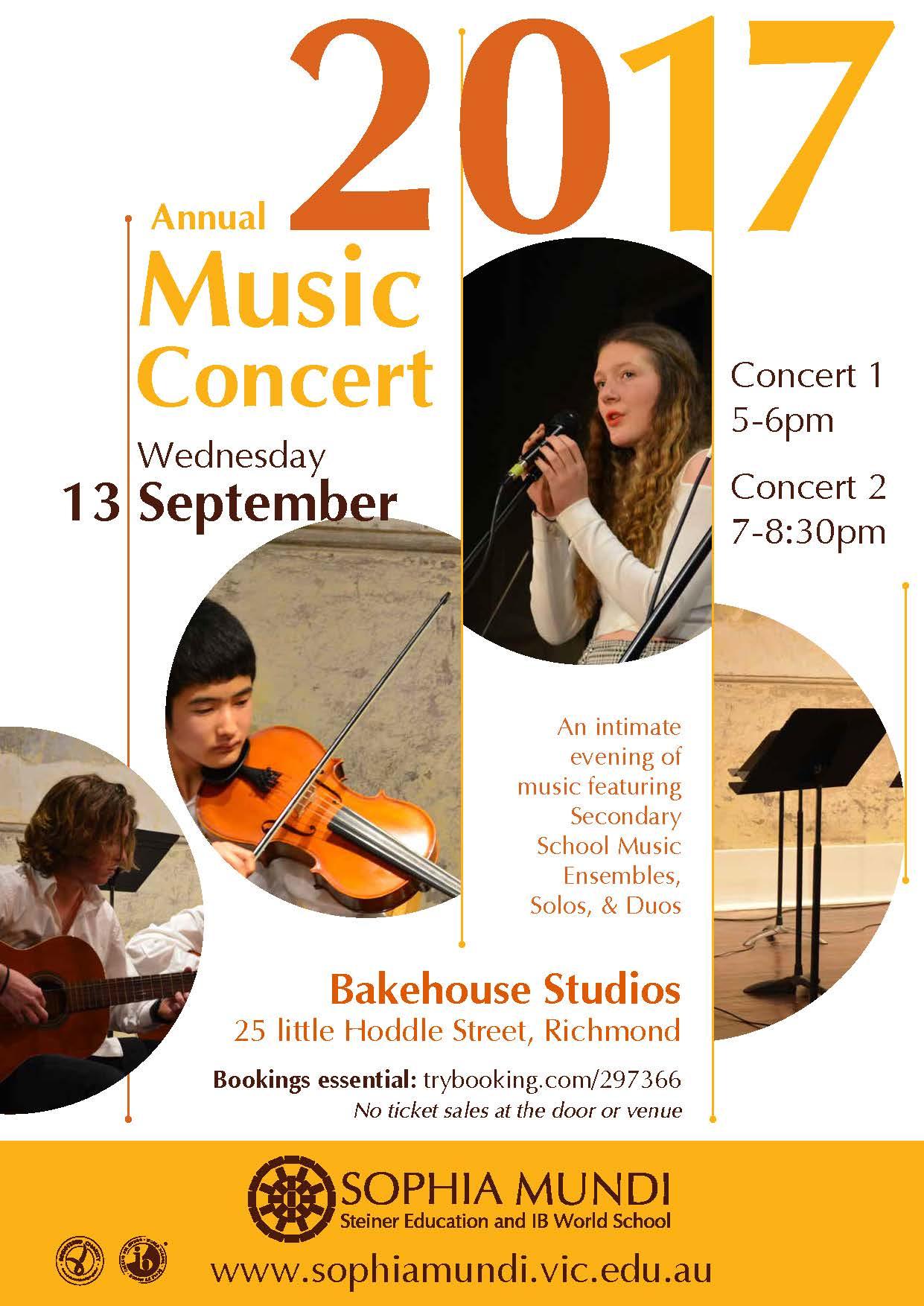 Annual Music Concert 2017