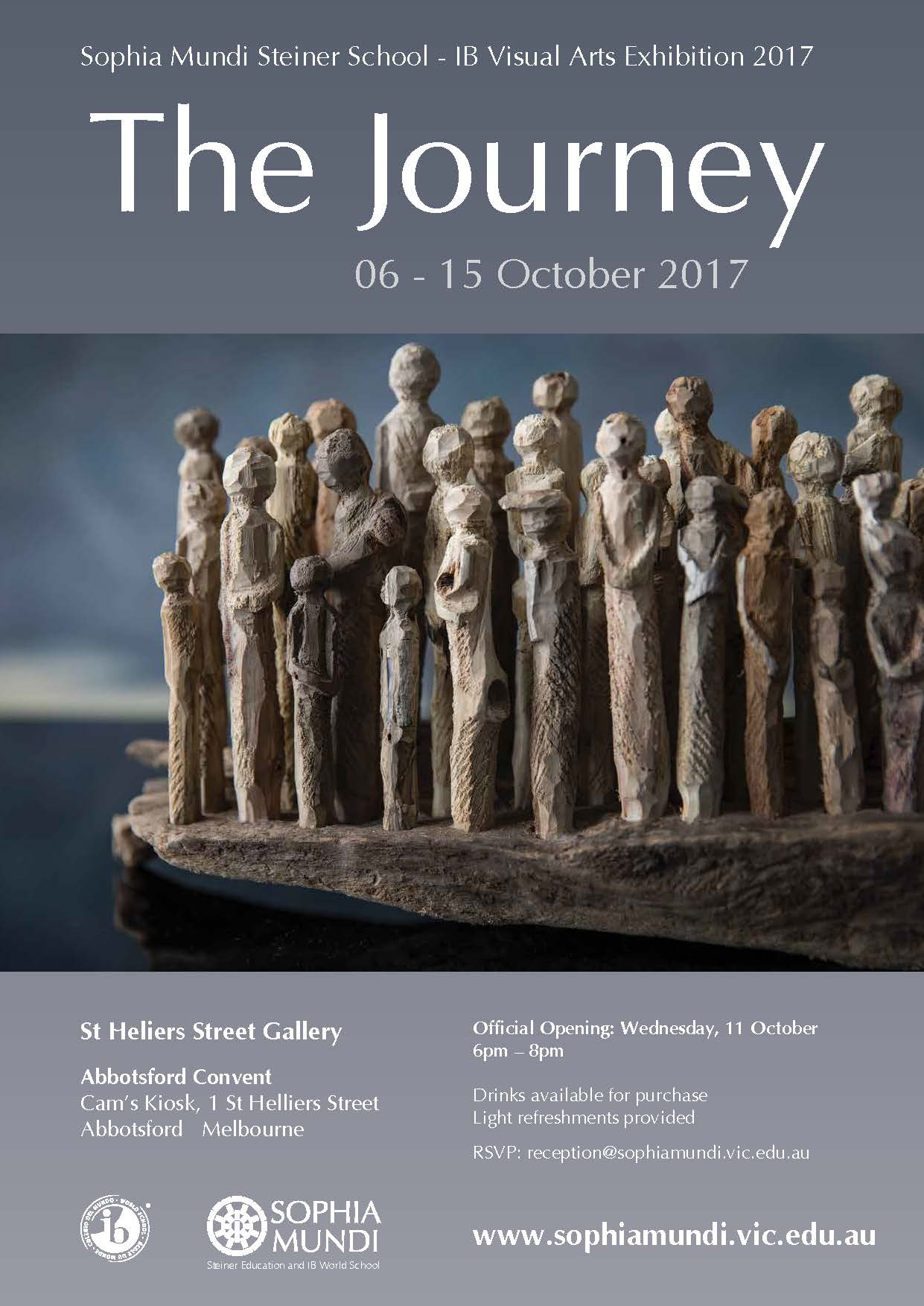 """The Journey""  IB Visual Arts Exhibition 2017"