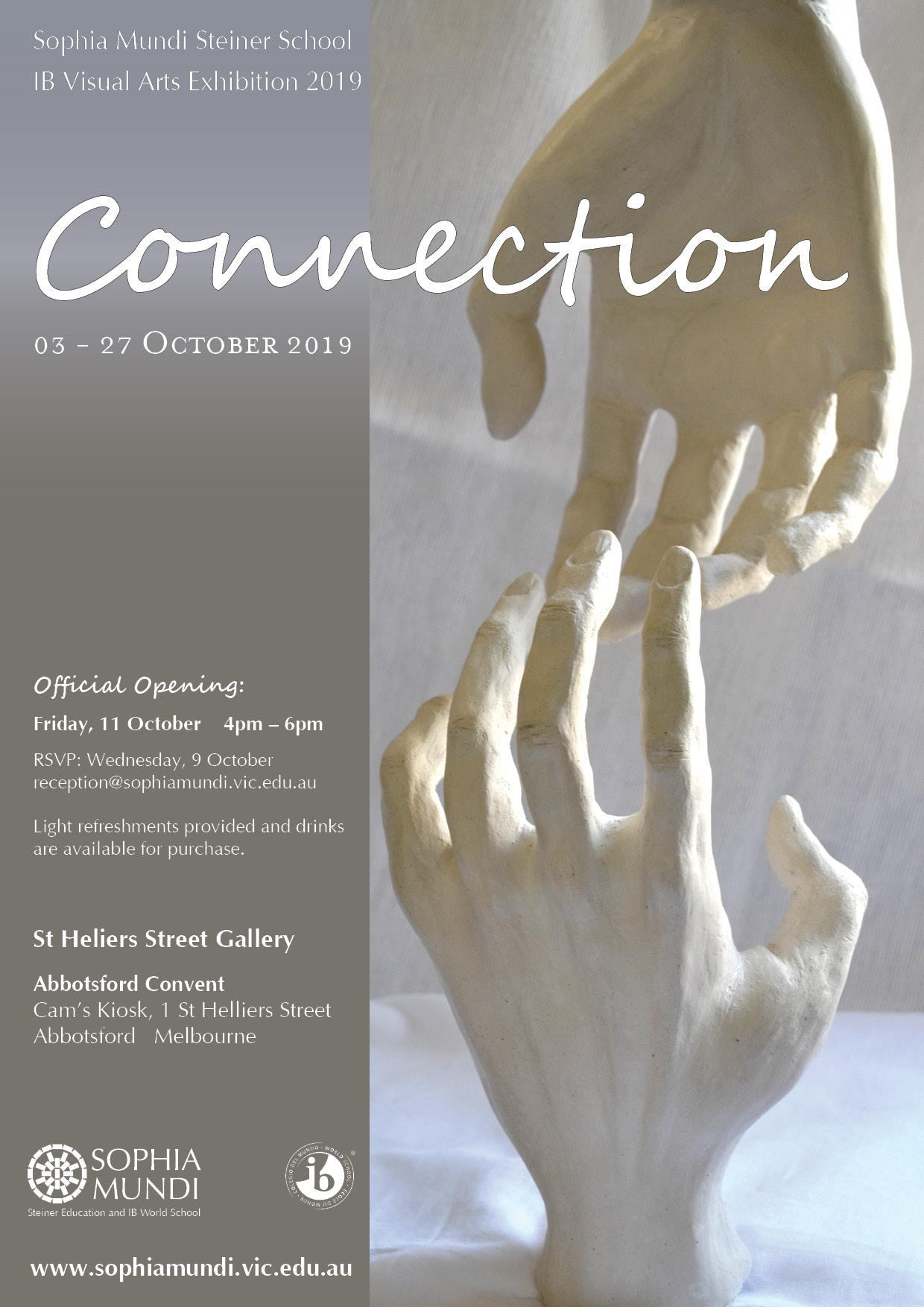 """Connection""  IB Visual Arts Exhibition 2019"