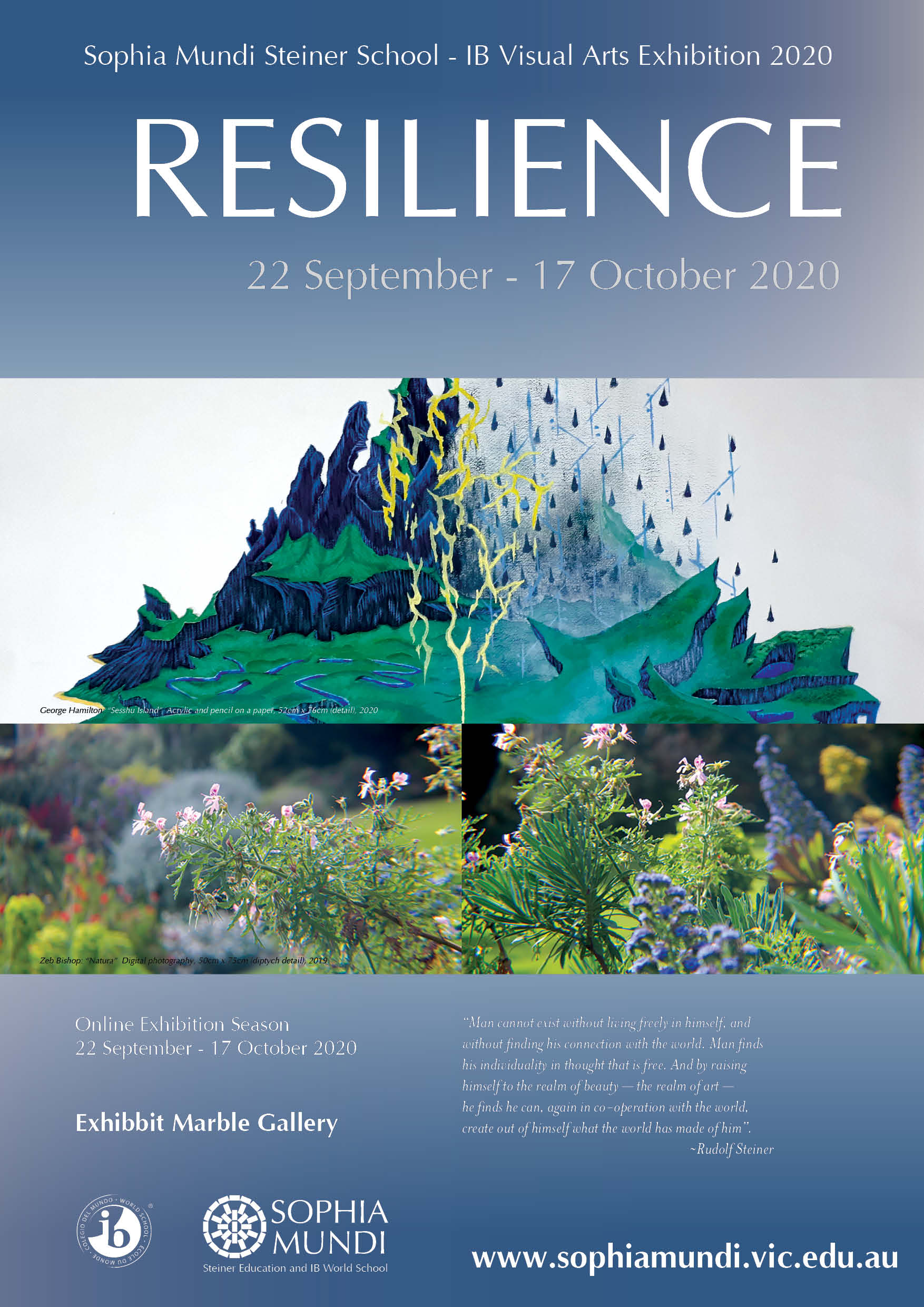 """RESILIENCE""  IB Visual Arts Exhibition 2020"